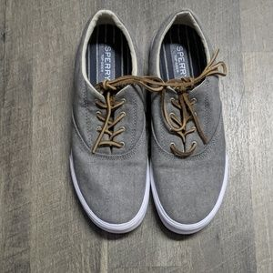 BRAND NEW SPERRY TOP SLIDER grey shoes